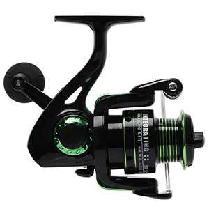 Night Cat Spinning Fishing Reel Lightweight Ultra Smooth Aluminum Spinning Fishing Reel 12+1BB 2000 3000
