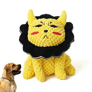 Plush Dog Toy, Puppy Chew Toys Interactive Small Dog Toys,Cute Squeaky Dog Chew Toys for Puppy, Stuffed Dog Toy for Medium Dogs, Interactive& Reduce Boredom