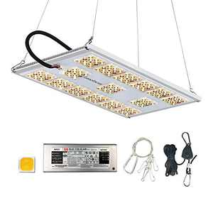 Lenofocus MX1200 LED Grow Light Full Spectrum Plant Growing Lamp with Cree LEDs and Meanwell Driver 2x2 3x3 FT Dimmable Grow Lights for Indoor Plants Seedling Veg Flowering