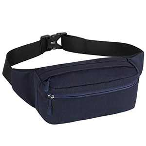 HUA ANGEL Unisex Fanny Pack-Crossbody Sling Backpack Running Waist Pack Bag Hiking Cycling Belt Waist Bag for Men & Women
