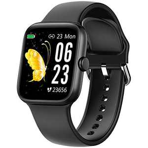 "Smart Watch for Men Women,Fitness Tracker with 1.54"" Full Touch Color Screen ,IP67 Waterproof Pedometer Smartwatch with Pedometer Heart Rate Monitor Sleep Tracker for Android and iOS Phones"