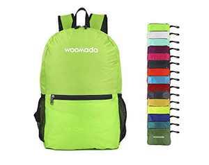 WOOMADA Ultra Lightweight Packable Backpack (Green)