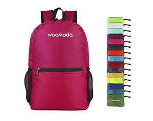 WOOMADA Ultra Lightweight Packable Backpack (Pink)