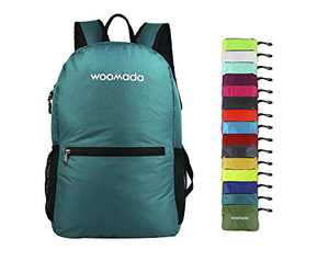 WOOMADA Ultra Lightweight Packable Backpack (Army Green)