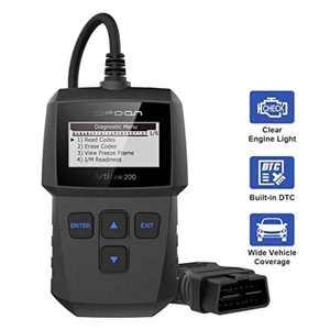 Topdon ArtiLink AL200 OBD2 Scanner Code Reader Diagnostic Scan Tool for Check Engine Light and Simple Smog Check for All OBDII CAN Fault Engine Eraser