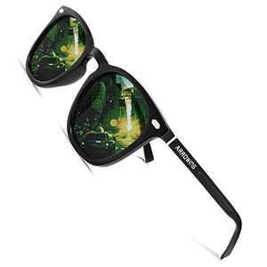 ARROWING Polarized HD Sunglasses Metal full frame UV400 Sunglasses for men women