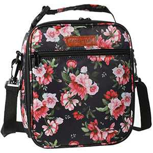 Dapper&Doll Crossbody Small Insulated Lunch Bag - Floral