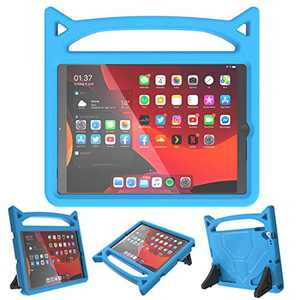 iPad 10.2/10.5 Case for Kids,iPad 7th/8th Gen(10.2 inch,2019/2020) / Air 3rd Generation / Pro 10.5 Case,SUPLIK Durable Shockproof Protective Handle Stand Cover, Blue