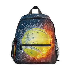 Chic Houses Baseball Flame Kids Backpack Mini Bookbag 2030530