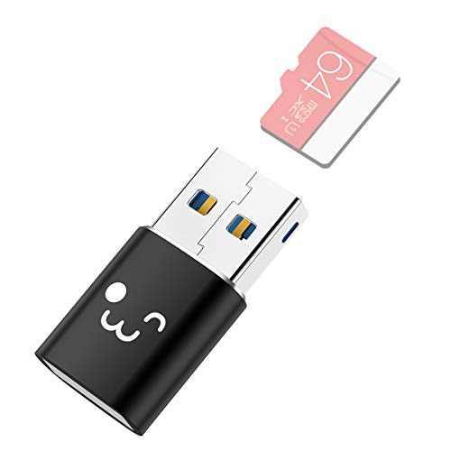 innOrca Mini 5Gbps SuperSpeed USB 3.0 UHS-I microSDXC microSDHC TF Card Reader Adapter