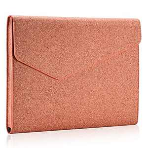 Aothia Eco Cork Laptop Sleeve Case Compatible with New MacBook Air 13-13.3 inch Retina Display A1932,MacBook Pro with USB-C Late 2016-2019,Notebook Computer,Ipad,Leather & Cork Envelope Case (Orange)