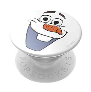 PopSockets: PopGrip with Swappable Top for Phones & Tablets - Frozen - Olaf Gloss