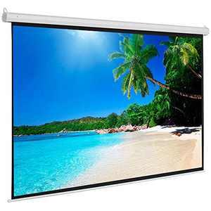 100 Inch Manual Projector Screen 4:3 Matte White