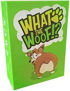 What the Woof - Card Games Family-Friendly Party Board Games Adults- Card Game for Adults Teens & Kids Fun and Easy to Learn. 3-5 Players - Gift for Dog Lovers