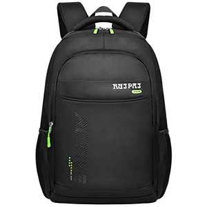 "VBG VBIGER Students Backpack 13"" Laptop Bag College Bags Fashionable School Bag for Junior and Senior School Students, Green"