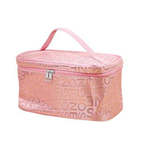 Travel Large Capacity Toiletry Wash Bag Waterproof Makeup Cosmetic Organiser Ideal Gift for Women Girls Kids (A) (D)