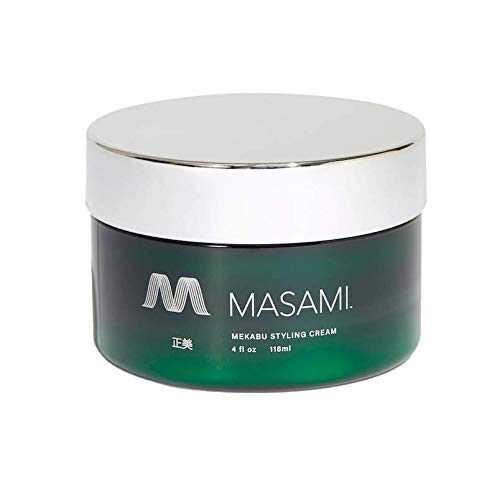 MASAMI Mekabu Hydrating Styling Cream: Sulfate-Free, Paraben-Free, Vegan