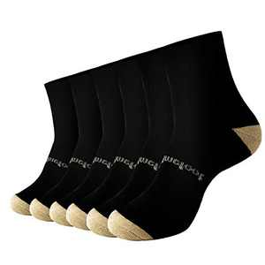 Copper Compression Socks for Men & Women Circulation- Plantar Fasciitis Socks Support for Athletic Running Cycling