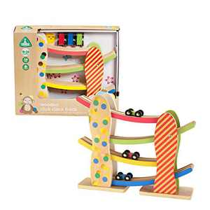 Early Learning Centre Wooden Click Clack Track, Amazon Exclusive, Multi-Color