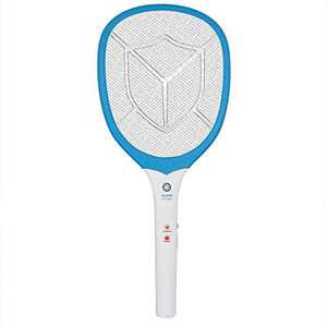 Bug Zapper for Outdoor & Indoor, Electric Bug Zapper Racket Rechargeable, Mosquito Killer for Home and Garden, Powerful 2700V Grid Fly Swatter