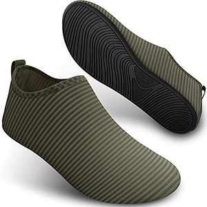 Water Shoes for Womens Mens Aqua Socks Quick-Dry Barefoot for Swim Beach Yoga SEEKWAY SB001 835