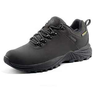 Wantdo Women's Waterproof Hiking Shoe Outdoor Hiking Trekking Backpacking Shoe Black 7 M US