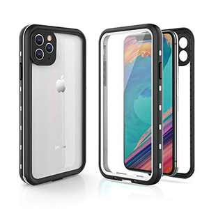 Fansteck iPhone 11 Pro Waterproof Case, (5.8 inch) IP68 Full-Body Protective Case with Built-in Screen Protector, High Sensitive Screen Touch, Snowproof/Dirtproof/Shockproof Case