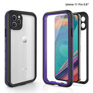 Fansteck iPhone 11 Pro Waterproof Case, IP68 Full-Body Protective Case with Built-in Screen Protector, Snowproof/Dirtproof/Shockproof Case, High Sensitive Screen Touch(5.8 inch)