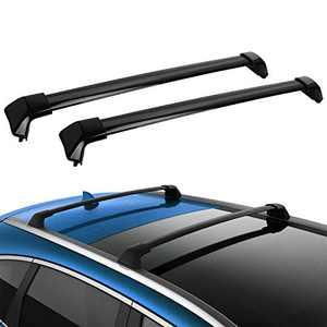 LEDKINGDOMUS Roof Rack Crossbars Compatible for 2012-2016 Honda CR-V with Side Rails, Aluminum Cross Bars for Cargo Carrier Roof Top Bike Luggage Rack