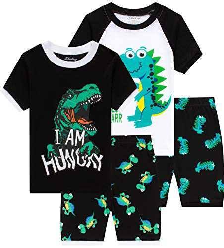 Boys Dinosaur Pajamas Litte Kids Pyjamas Children Clothes 8t