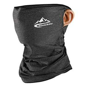 VOCALOL Summer UV Protection Face Cover,Anti Air Pollution Smoke Face Scarf Dust Cover Reusable Headwear Sports-Headbands Neck Gaiter for Sport,Outdoor,Fishing,Cycling (Light Gray)