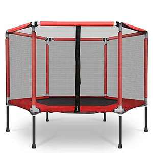 Trampoline for Kids Toddler Trampoline with Enclosure Net Mini Home Jumping Toys as Toddler Gift Indoor