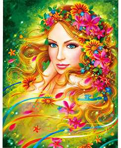 KWYZ 1000 Pieces Jigsaw Puzzles for Adults - The Beautiful Faery Jigsaw Puzzle Toy for Educational Gift Home Decor(27.56 in x 19.69 in)