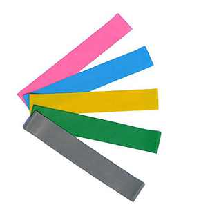 RINKOUa Resistance Bands Gym Fitness Equipment, Workouts at Home Resistance Exercise Bands Physical Therapy Workouts at Home Training Resistance Band (Random Color)