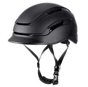 SKL Bike Skateboard Helmet with LED Rear Light, Ventilative Adjustable Helmet for Adult Urban Commuter Men&Women 59-61cm, Multi-Sports Cycling Scooter Roller Skate Inline Skating Longboard