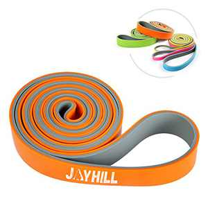 Pull Up Assistance Band 5 Levels - Resistance Band Best for Stretch, Mobility Training, Home Workout, Crossfit Exercises & Powerlifting (Heavy(50-75Lb))