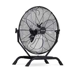 """NewAir 18"""" Outdoor Rated 2-in-1 High Velocity Floor or Wall Mounted Fan with 3 Fan Speeds and Adjustable Tilt Head, NIF18CBK00"""