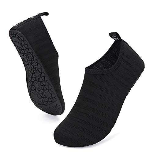 UBFEN Mens Womens Water Shoes Aqua Socks Quick Dry Barefoot Shoes for Yoga Swim Surf Pool Beach Walking Exercise