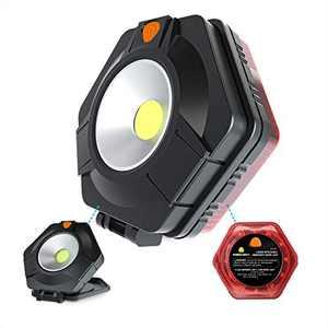 PowerFirefly 2-Sided Detachable LED Work Light, Bright Magnet Light, Portable Emergency Light, Strobe Light, Strong Magnetic Base, Car Truck Boat, Multi-Purpose