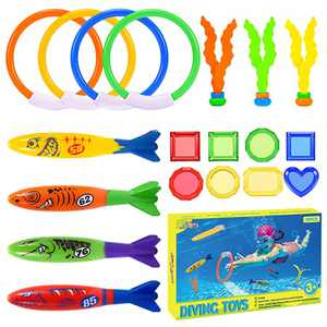 superwinky Water Toys for Kids Ages 4-8, Pool Toys for Kids 3-10 Outdoor Toys for Kids Ages 4-8 Summer Toys for Kids Ages 4-8 Diving Toys for Boys Girls Birthday Gifts for 3-12 Years