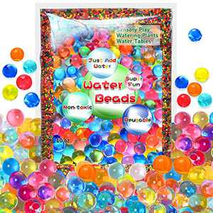 Water Beads for Kids None Toxic 55000 Beads Jelly Beads Tactile Sensory Toys for Kids Tactile Sensory Toys Home Décor