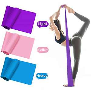 EPROSMIN Resistance Bands Set, Latex Exercise Bands with 3 Resistance Level, Elastic Bands for Full Body Exercise - Fitness, Yoga, Pilates, Physical Therapy&Home Workout