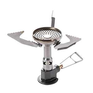 Fire-Maple Polaris Gas Fuel Canister Folding Backpacking Stove w/Pressure Regulator for 4 Season Outdoor Use | Great for Cold and Elevation Camp Cooking