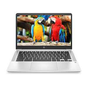 HP Chromebook 14-inch FHD Laptop, Intel Celeron N4000, 4 GB RAM, 32 GB eMMC, Chrome (14a-na0090nr, Forest Teal)