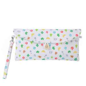 Lamyba Carrying Case Sleeve for Nintendo Switch Lite with Game Card Holders, Inspired by Animal Crossing: New Horizons,Island Fruits