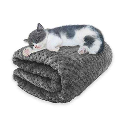 Laifug Premium Fluffy Fleece Warm Dog Blanket,Multiple Sizes,Machine Washable,Soft Plush Throw Protects Couch, Chairs, Car, or Bed from Spills, Stains