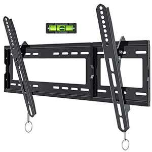 Tilting TV Wall Mount Bracket Low Profile for Most 32-80 Inch LED, LCD, OLED, Plasma Flat Screen TVs with VESA 600x400mm Weight up to 165lbs by JUSTSTONE