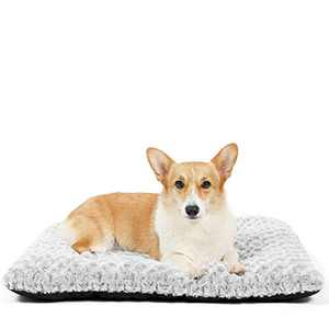 HACHIKITTY Dog Crate Bed Large Dogs, Dog Crate Pads Machine Washable, Portable Dog Crate Mats Medium Dogs, 30''