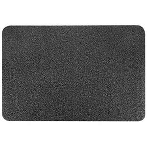 EasyAcc Front Door Mat Outdoor, Welcome Doormat for Entryway 30 x 18 inches Grey Entrance Floor Door Mats Non Slip Outside Washable Entry Rug with Rubber Backing