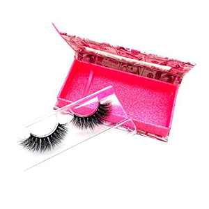 KallyHair Cat Eyes 100% Siberian Real Mink Lashes   3D Effect Natural Length Cotton Band Eyelashes   Money Box Real Mink Lashes for Women